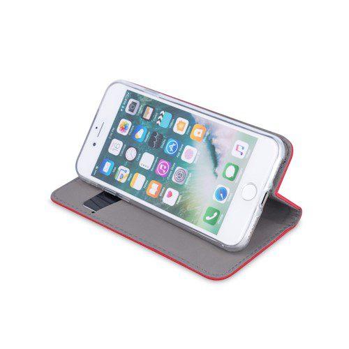 Smart magnetna torbica za Xiaomi Mi Note 10 Lite crvena