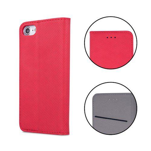 Smart magnetna torbica za Huawei P40 Lite E / Huawei Y7P crvena