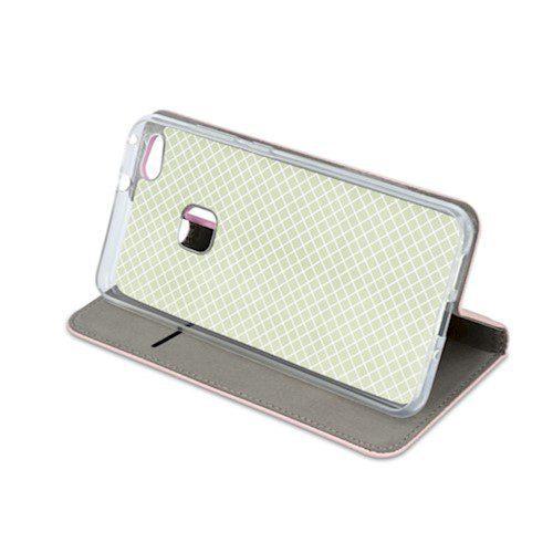 Smart magnetna torbica za Samsung A40 rozo-zlatna
