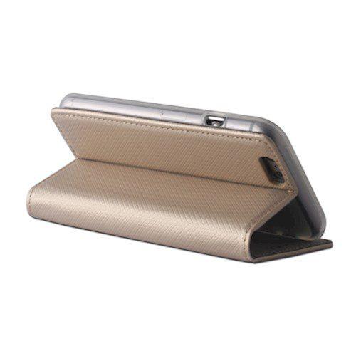 Smart magnetna torbica za Oppo A31 zlatna