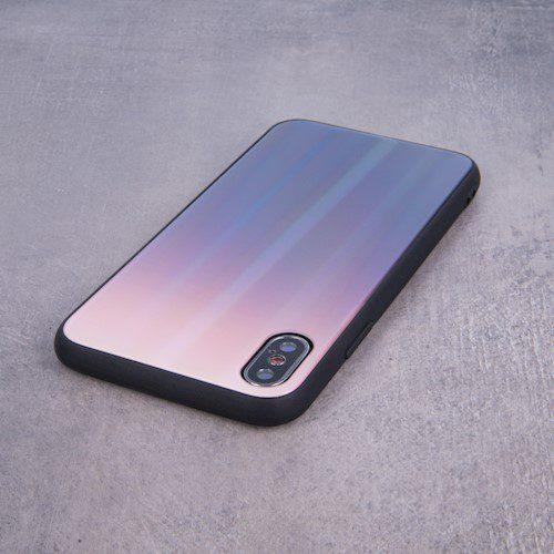 Zaštitna zadnja maska za iPhone 11 Pro Max smeđe-plava