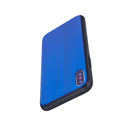 Zaštitna zadnja maska za Xiaomi Redmi Note 9 plavo