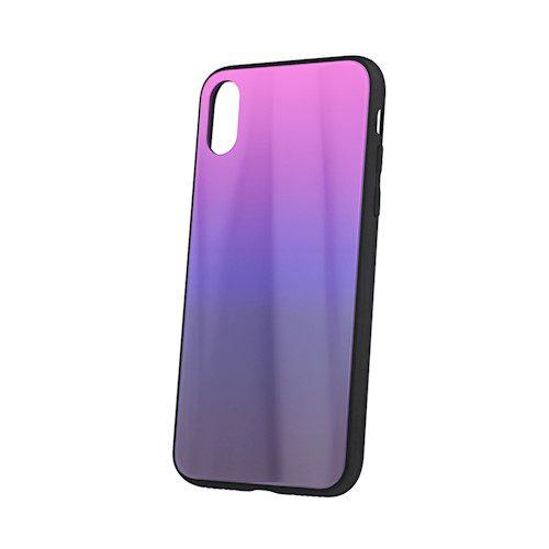 Zaštitna zadnja maska za Samsung S20 rozo-crna
