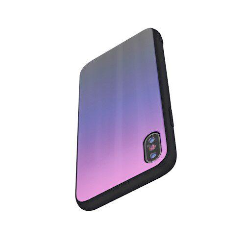 Zaštitna zadnja maska za Samsung A51 rozo-crna