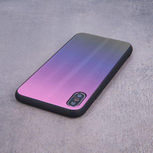 Aurora Glass torbica za Huawei P40 Pro rozo-crna