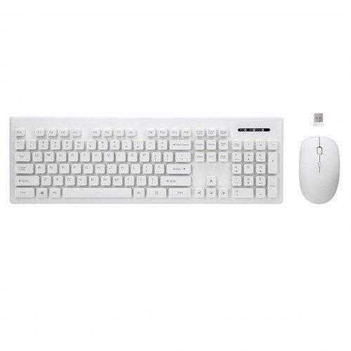 Rebeltec bežični set: tipkovnica + miš bijela boja Whiterun