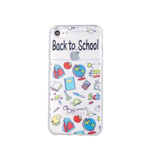 Zaštitna zadnja maska School3 za iPhone X / XS