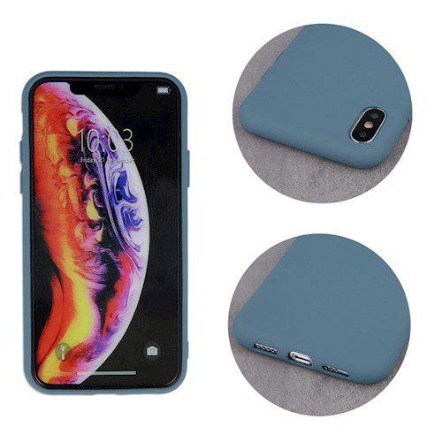 Zaštitna zadnja maska za iPhone 11 sivo-plava