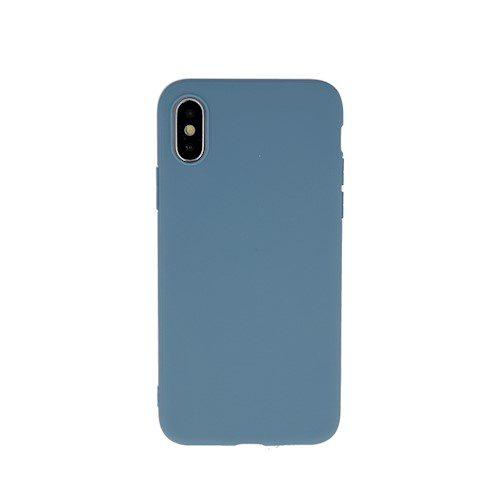 Zaštitna zadnja maska za Samsung A70 sivo-plava