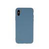 Zaštitna zadnja maska za iPhone XS Max sivo plava