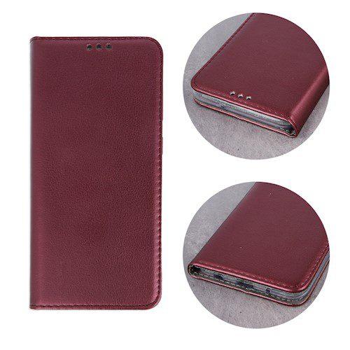 Smart magnetna torbica za Huawei P40 burgundy