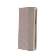 Smart Senso torbica za Samsung A71 zlatna