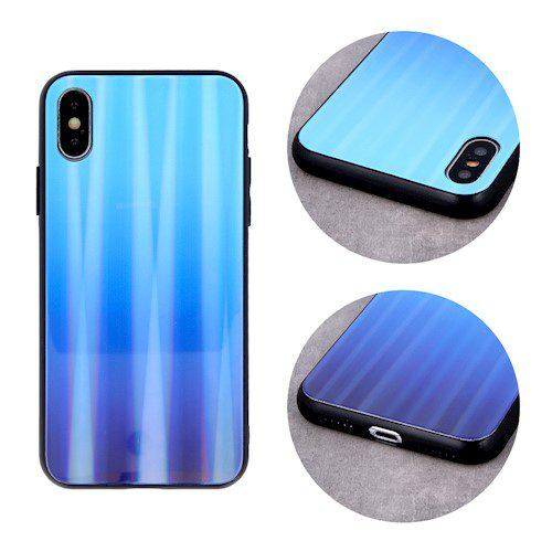 Zaštitna zadnja maska za Huawei P40 Lite E / Huawei Y7P plava