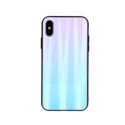 Zaštitna zadnja maska za iPhone XS Max plavo-roza