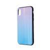 Zaštitna zadnja maska za Samsung A40 plavo-rozo
