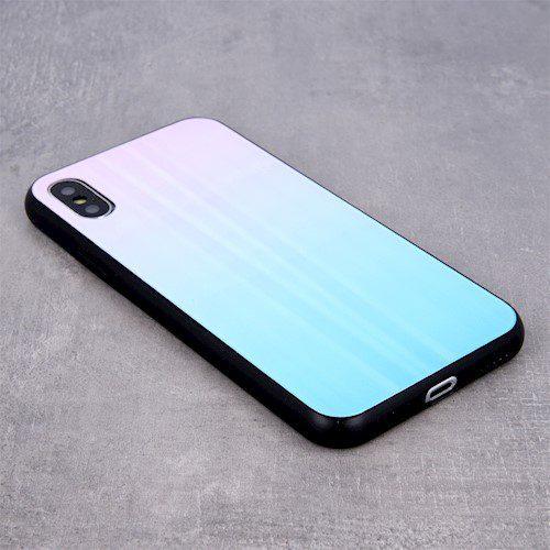 Zaštitna zadnja maska za Samsung S10 Lite / A91 plavo-roza