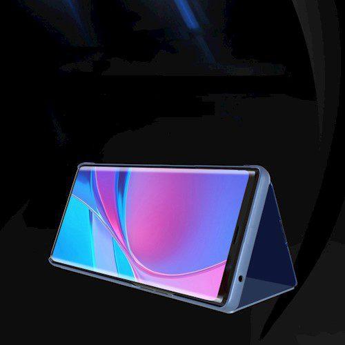 Smart Clear View torbica za Huawei P40 Lite E / Huawei Y7P black