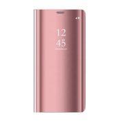 Smart Clear View torbica za Huawei P40 Lite E / Huawei Y7P roza