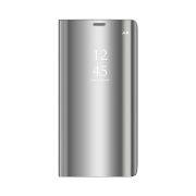 Smart Clear View torbica za Huawei P40 Lite E / Huawei Y7P srebrna
