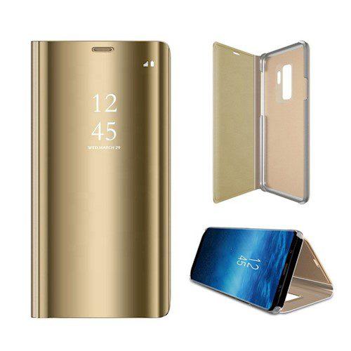 Smart Clear View torbica za Xiaomi Redmi K20 / K20 Pro / Mi 9T / Mi 9T Pro zlatna