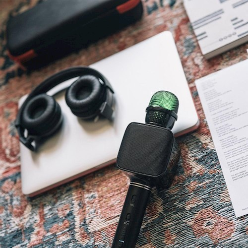 Forever BMS-400 mikrofon s bluetooth zvučnikom crni