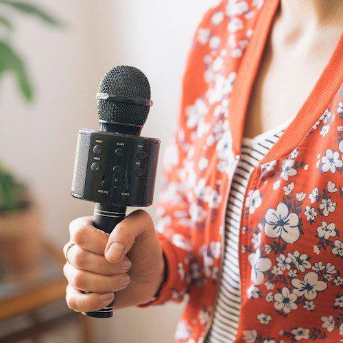 Forever BMS-300 mikrofon s bluetooth zvučnikom crni