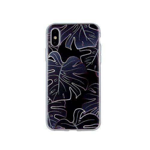Zaštitna zadnja maska monstera flower za Samsung A21s