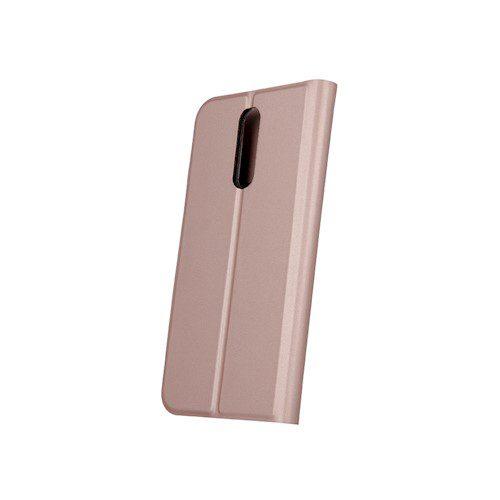 Smart Skin torbica za Samsung A21S rozo-zlatna