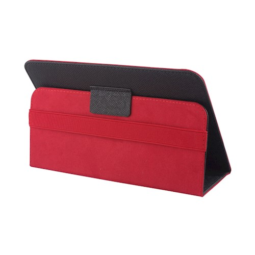 Univerzalna torbica Orbi za tablet 7-8`` crno-crvena