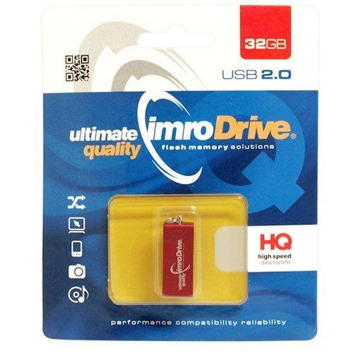 Memorijska kartica IMRO Edge 32GB crvena