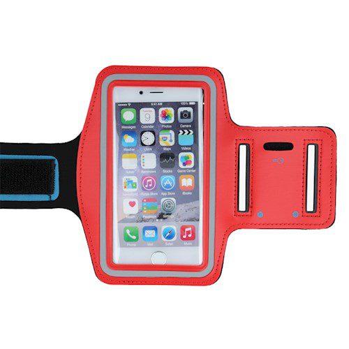 """Držač za ruku Premium 6,0"""" (Huawei P30, Sam S10, Sam S9,Note 3) crveni"""