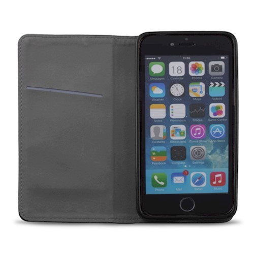 "Smart magnetna torbica za iPhone 12 Mini 5,4"" crna"