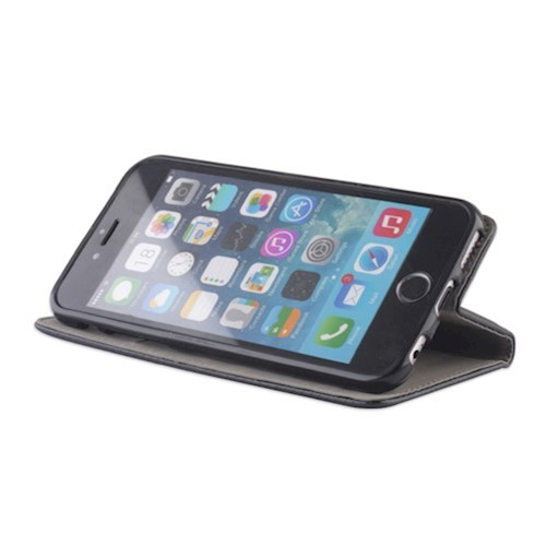 Smart magnetna torbica za Huawei P40 Lite crna