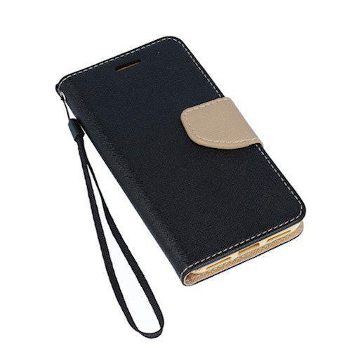 Smart Fancy torbica za Huawei P40 Lite crno-zlatna