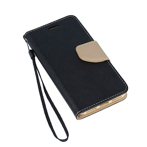 Smart Fancy torbica za Huawei P40 crno-zlatna