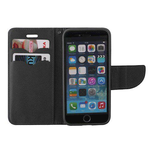 Smart fancy torbica za Huawei P30 Lite crna