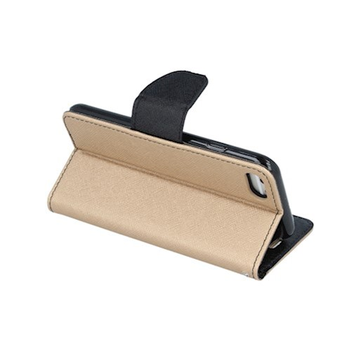 Smart Fancy torbica za Huawei P40 zlatno-crna