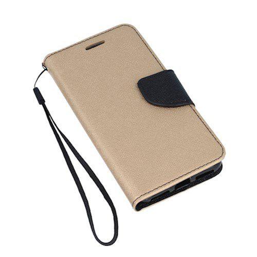 Smart fancy torbica za Huawei P30 Lite zlatno-crna
