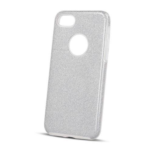 Zaštitna zadnja maska 3/1 za iPhone X / iPhone XS srebrna