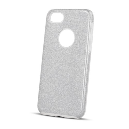 Zaštitna zadnja maska 3/1 za Huawei Y5p srebrna