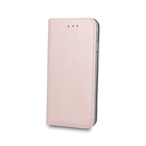 Smart magnetna torbica za Huawei P40 Lite rozo-zlatna